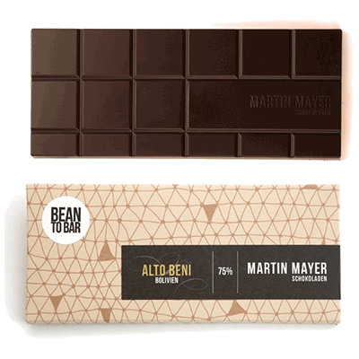 Mayer Bean2Bar Alto Beni 75% (10% MWSt)