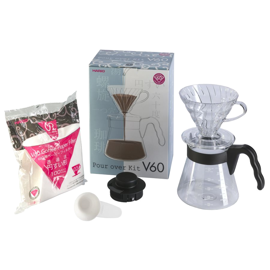 Hario V60 Filter Pour Over Kit